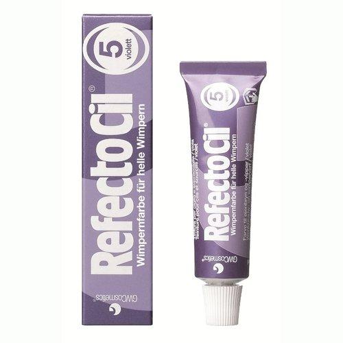 RefectoCil Barva na řasy a obočí fialová - 15 ml | Barvy na řasy a na obočí