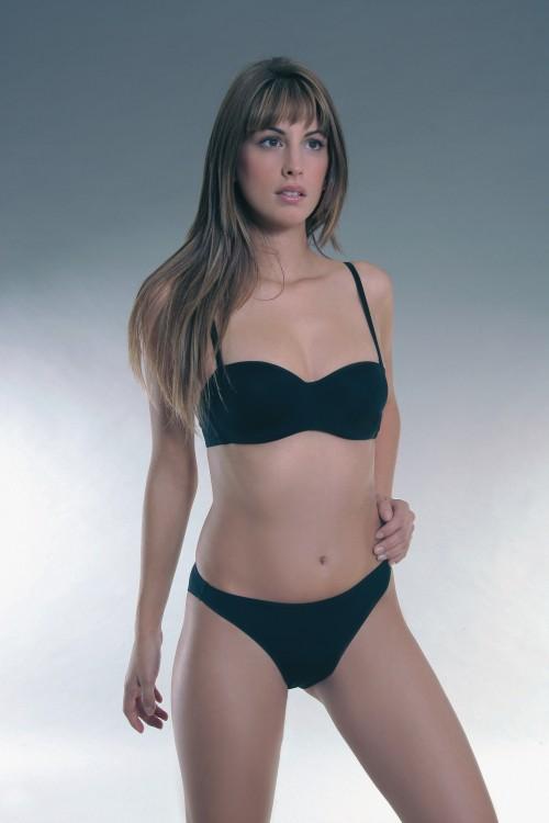 Kalhotky microtouch 46350 barva černá | NEHTOVÁ MODELÁŽ - Spodní prádlo Sassa