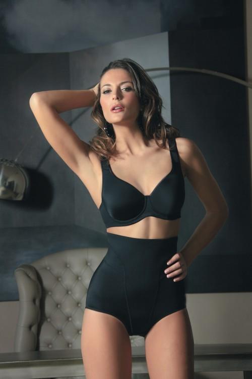 Stahovací kalhotky Selection 536 barva černá | NEHTOVÁ MODELÁŽ - Spodní prádlo Sassa