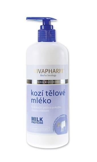 Vivapharm Kozí hydratační tělové mléko 400 | NEHTOVÁ MODELÁŽ - Péče o pleť a tělo Vivaco - Tělové krémy, mléka a balzámy