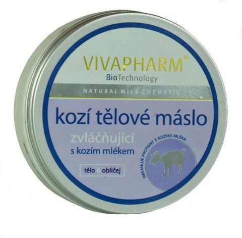 Vivaco Vivapharm Tělové máslo s kozím mlékem 200 ml | Péče o pleť a tělo Vivaco - Tělové krémy, mléka a balzámy