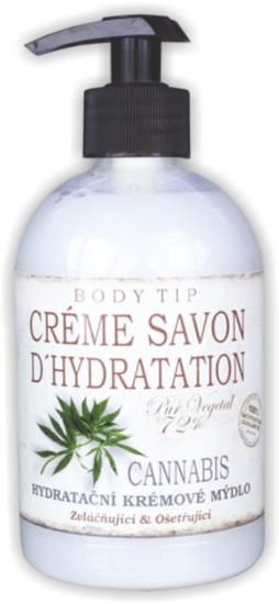 Vivaco Body Tip Tekuté krémové mýdlo na ruce Cannabis 500 ml | Péče o pleť a tělo Vivaco - Péče o ruce