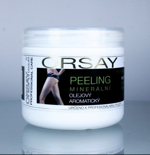 Orsay Minerální olejový detoxikační peeling na nohy a ruce s mořskými řasami 500 ml | NEHTOVÁ MODELÁŽ - Péče o pleť a tělo Vivaco - Tělové krémy, mléka a balzámy