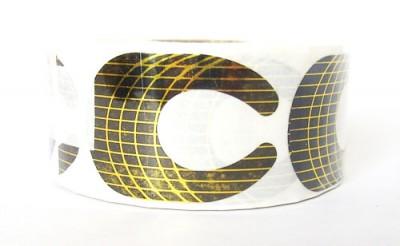 Nehtová forma nehty papírová profi 500 ks | NEHTOVÁ MODELÁŽ - Nehtové tipy pro nehtovou modeláž - Příslušenství k tipům
