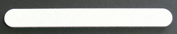 Pilník na nehty 100/180 bílý | Leštičky, leštící bloky a pilníky na nehty pro nehtovou modeláž a manikúru - Pilníky na nehty pro nehtovou modeláž a manikúru - rovné