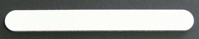 Pilník na nehty 240/240 bílý | Leštičky, leštící bloky a pilníky na nehty pro nehtovou modeláž a manikúru - Pilníky na nehty pro nehtovou modeláž a manikúru - rovné