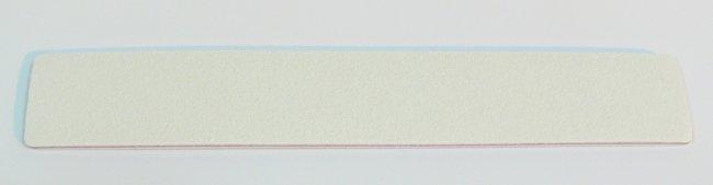 Pilník na nehty 100/180 bílý Jumbo | Leštičky, leštící bloky a pilníky na nehty pro nehtovou modeláž a manikúru - Pilníky na nehty pro nehtovou modeláž a manikúru - zahnuté a rovné široké