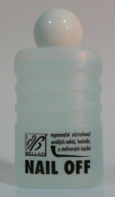 Bellazi Nail Off odstraňovač umělých nehtů 50 ml | NEHTOVÁ MODELÁŽ - Nehtové tipy pro nehtovou modeláž - Příslušenství k tipům