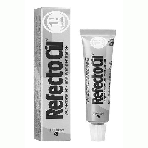 RefectoCil Barva na řasy a obočí grafitová - 15ml | Barvy na řasy a na obočí