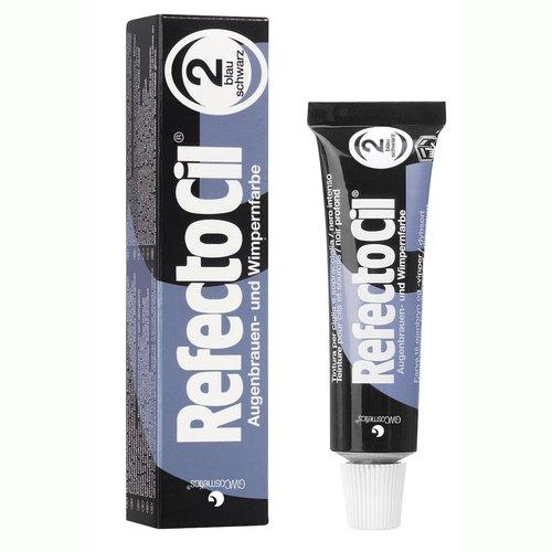 RefectoCil Barva na řasy a obočí modročerná - 15 ml | Barvy na řasy a na obočí