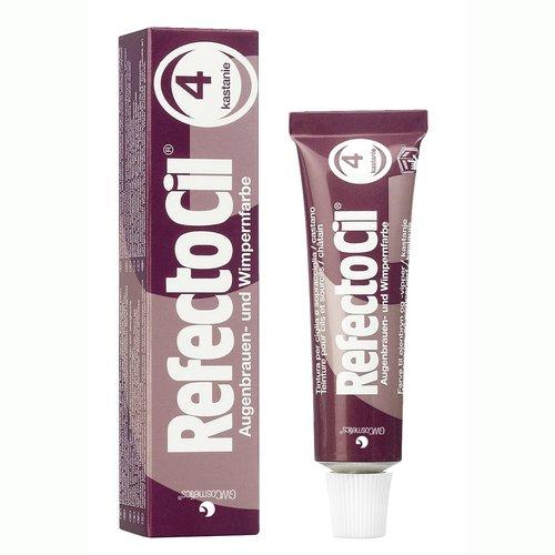 RefectoCil Barva na řasy a obočí kaštanová - 15ml | Barvy na řasy a na obočí