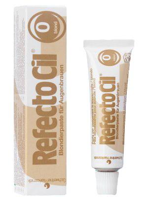 RefectoCil Zesvětlovací pasta na obočí blond - 15 ml        | NEHTOVÁ MODELÁŽ - Barvy na řasy a na obočí
