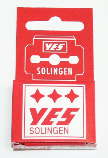 Solingen YES žiletky k seřezávači ztvrdlé kůže na patách 10 ks | Kleště a nůžky na nehty a kůži pro manikúru a pedikúru, pinzety, pilníky, atd. - Ostatní nástroje a příslušenství pro pedikúru