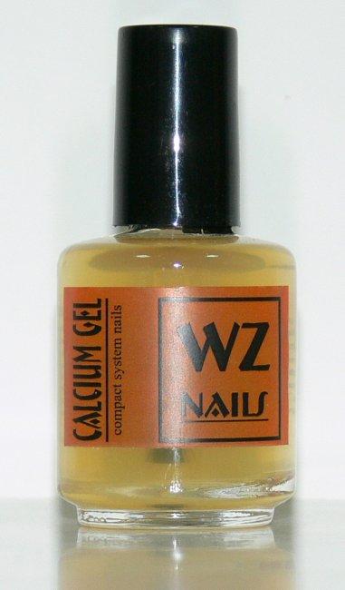 Zpevňující podkladový lak s vápníkem Calcium Gel 15 ml | NEHTOVÁ MODELÁŽ - Přípravky k péči o nehty a k manikúře - Přípravky k péči o nehty a k manikúře WZ nails