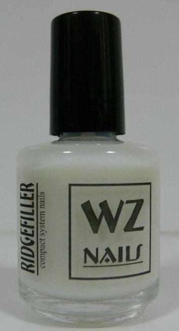 Podkladový lak bílý Ridgefiller White 15 ml | NEHTOVÁ MODELÁŽ - Přípravky k péči o nehty a k manikúře - Přípravky k péči o nehty a k manikúře WZ nails