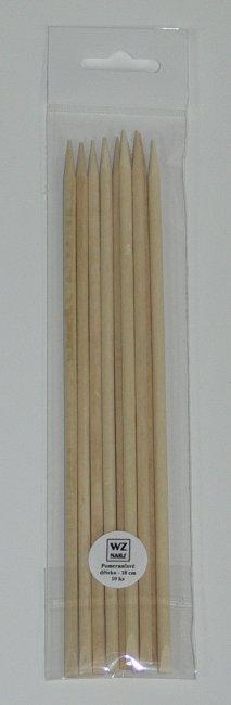 Pomerančové dřívko dlouhé balení 10 ks | NEHTOVÁ MODELÁŽ - Přípravky k péči o nehty a k manikúře - Pomůcky k péči o nehty a k manikúře