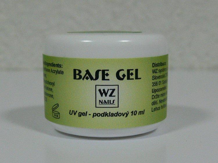 UV gel podkladový Base gel 10 ml | NEHTOVÁ MODELÁŽ - UV gely  - UV gely WZ NAILS