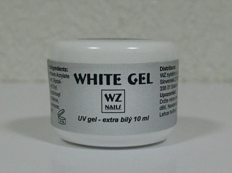 UV gel na francouzskou manikúru White extra gel 10 ml | UV gely - UV gely WZ NAILS