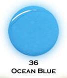 UV gel barevný perleťový Ocean Blue 5 ml   NEHTOVÁ MODELÁŽ - Barevné UV gely - Perleťové barevné UV gely