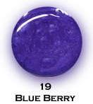 UV gel barevný perleťový Blue Berry 5 ml | NEHTOVÁ MODELÁŽ - Barevné UV gely - Perleťové barevné UV gely