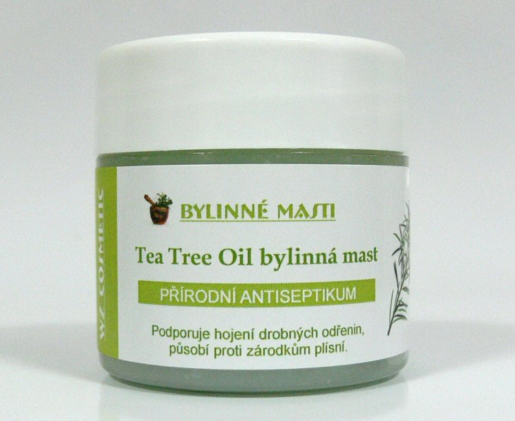 Bylinná mast s Tea Tree Oil 150 ml | Kosmetika WZ cosmetic - Bylinné masti a vazelíny