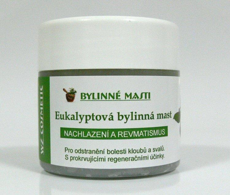 Bylinná mast eukalyptová 150 ml | Kosmetika WZ cosmetic - Bylinné masti a vazelíny