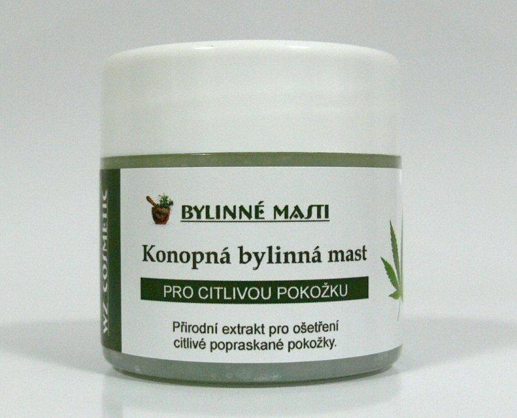 Bylinná mast s konopným olejem 150 ml | Kosmetika WZ cosmetic - Bylinné masti a vazelíny