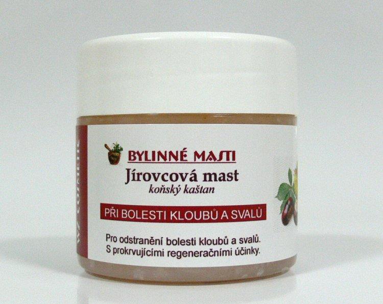Bylinná mast jírovcová 150 ml | Kosmetika WZ cosmetic - Bylinné masti a vazelíny