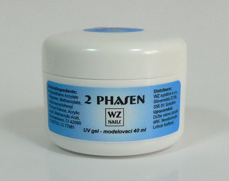 UV gel modelovací dvoufázový 40 ml | NEHTOVÁ MODELÁŽ - UV gely  - UV gely WZ NAILS