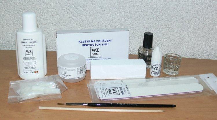 Sada pro akrylovou nehtovou modeláž - malá 30 | Sady pro modeláž nehtů - Akryl sady pro modeláž nehtů