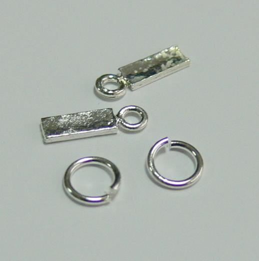 Piercing 590-01 ozdoby na nehty 2 ks  | NEHTOVÁ MODELÁŽ - Zdobící nálepky a obtisky na nehty - Piercing na nehty