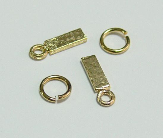 Piercing 590-02 ozdoby na nehty 2 ks  | NEHTOVÁ MODELÁŽ - Zdobící nálepky a obtisky na nehty - Piercing na nehty