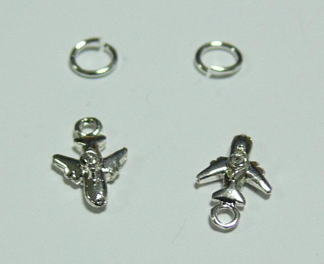 Piercing 590-14 ozdoby na nehty 2 ks  | NEHTOVÁ MODELÁŽ - Zdobící nálepky a obtisky na nehty - Piercing na nehty