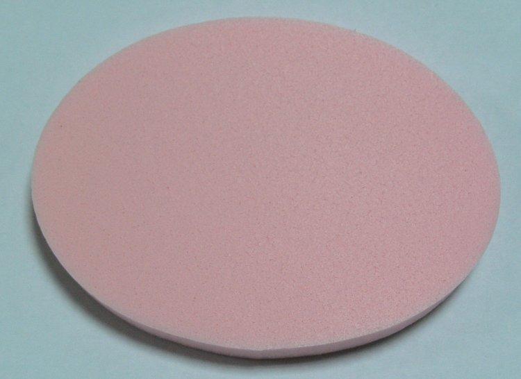 Houbička na make up ovál 80x60 mm | NEHTOVÁ MODELÁŽ - Kosmetika WZ cosmetic - Kosmetické pomůcky