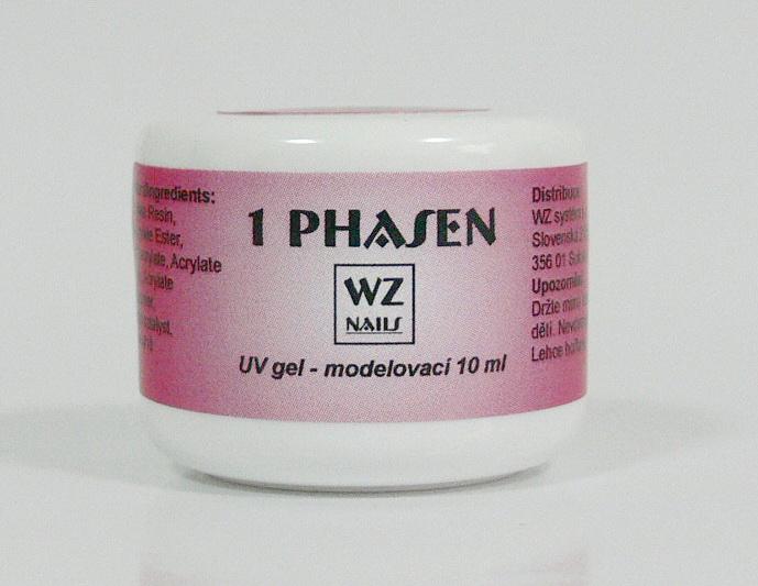 UV gel modelovací jednofázový 10 ml | UV gely - UV gely WZ NAILS