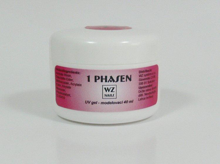 UV gel modelovací jednofázový 40 ml | UV gely - UV gely WZ NAILS