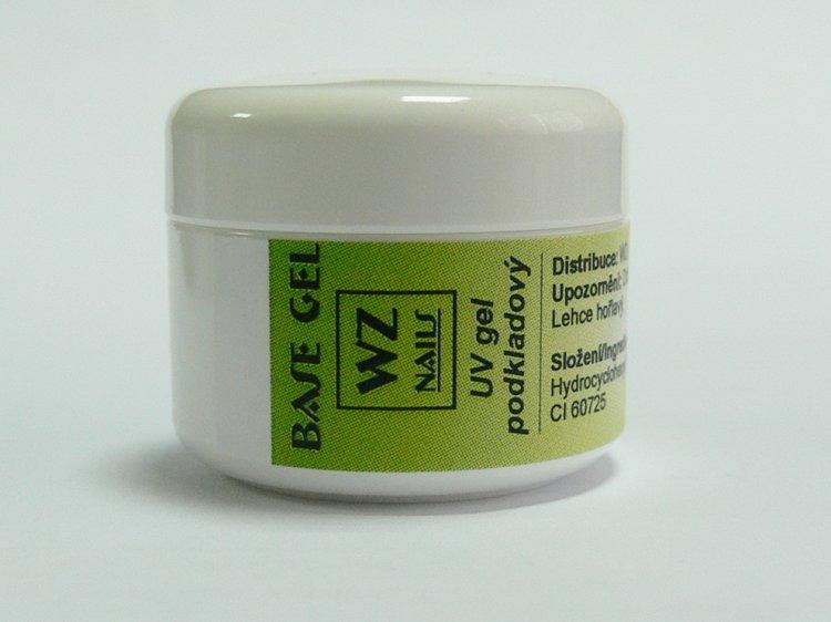 UV gel podkladový Base gel 5 ml | NEHTOVÁ MODELÁŽ - UV gely  - UV gely WZ NAILS