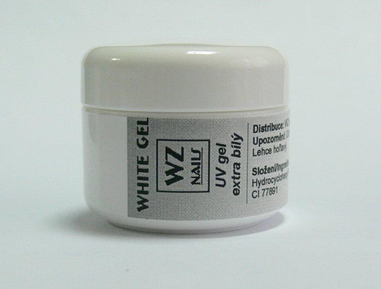 UV gel na francouzskou manikúru White extra gel 5 ml | UV gely - UV gely WZ NAILS