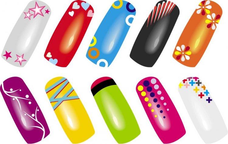 Plakát WZ nails barevná variace | NEHTOVÁ MODELÁŽ - Čističe a příslušenství