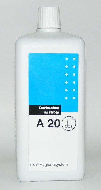 Dezinfekce na nástroje A20 ( 2 % ) 1 litr | Dezinfekce a hygiena - Dezinfekce na nástroje a plochy