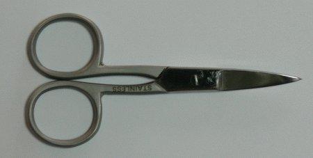 Nůžky na silné nehty 9 cm | Kleště a nůžky na nehty a kůži pro manikúru a pedikúru, pinzety, pilníky, atd. - Nůžky na nehty a kůži pro manikúru a pedikúru