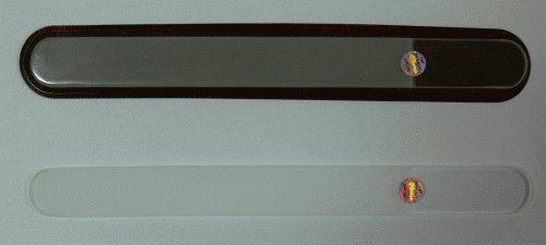 Pilník na nehty skleněný oboustranný 200/3 mm čirý | NEHTOVÁ MODELÁŽ - Leštičky, leštící bloky a pilníky na nehty pro nehtovou modeláž a manikúru - Skleněné a barevné pilníky na manikúru - Jednobarevné čiré