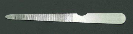 Pilník na nehty kovový, sekaný 12,5 cm | NEHTOVÁ MODELÁŽ - Kleště a nůžky na nehty a kůži pro manikúru a pedikúru, pinzety, pilníky, atd. - Pinzety, kovové a safírové pilníky na nehty