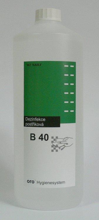 Dezinfekce postřiková na plochy a nástroje B40 1 litr | NEHTOVÁ MODELÁŽ - Dezinfekce a hygiena - Dezinfekce na nástroje a plochy