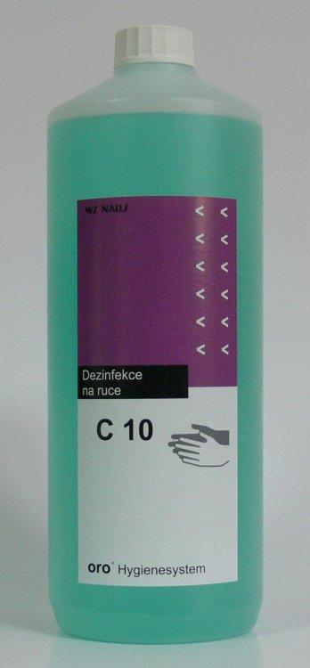 Dezinfekce na ruce C10 alkoholová 1 litr  | NEHTOVÁ MODELÁŽ - Dezinfekce a hygiena - Dezinfekce na ruce