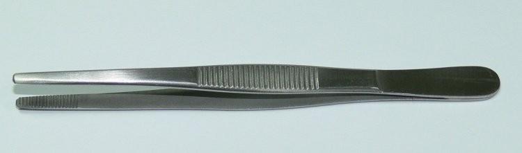 Pinzeta anatomická 12 cm | NEHTOVÁ MODELÁŽ - Chirurgické nástroje, pinzety - Pinzety anatomické