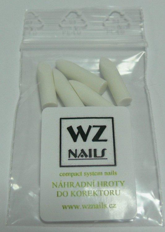 Náhradní hroty WZ nails do odlakovače ve fixu FS (balení 5 ks) | NEHTOVÁ MODELÁŽ - Laky na nehty - Sušiče laku a příslušenství