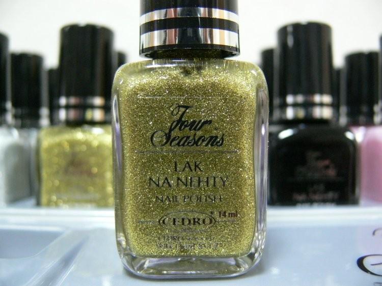 Four Seasons Lak na nehty FS odstín 60 glitterový lak 14 ml | Laky na nehty - Laky na nehty Cedro - Four Seasons