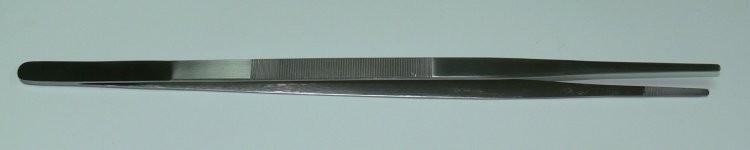 Pinzeta anatomická 25 cm | NEHTOVÁ MODELÁŽ - Chirurgické nástroje, pinzety - Pinzety anatomické