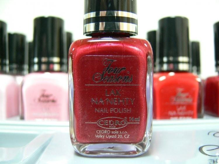 Four Seasons Lak na nehty FS odstín 10 perleťový lak 14 ml | Laky na nehty - Laky na nehty Cedro - Four Seasons